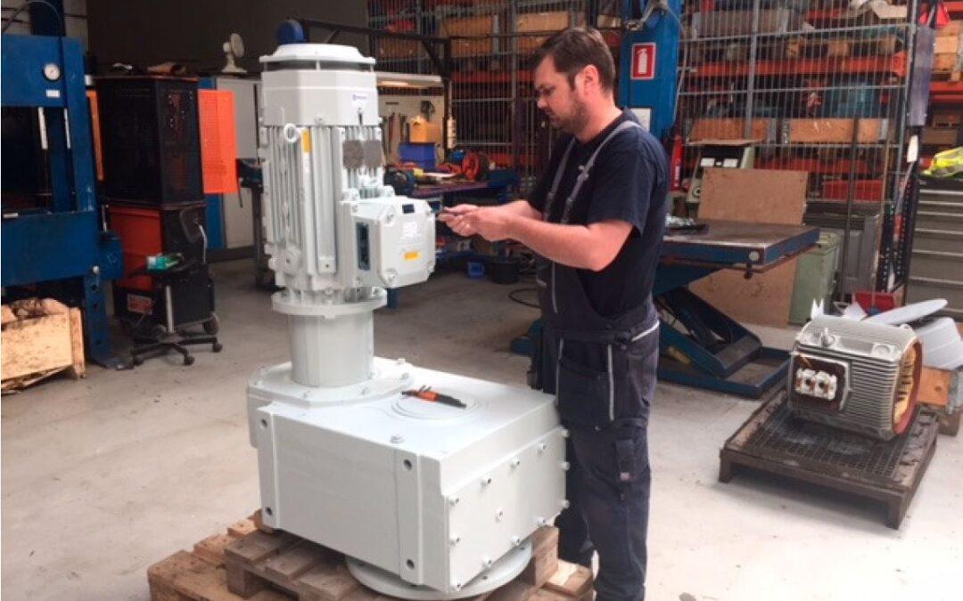 Renovering af gear til Solrød Biogas