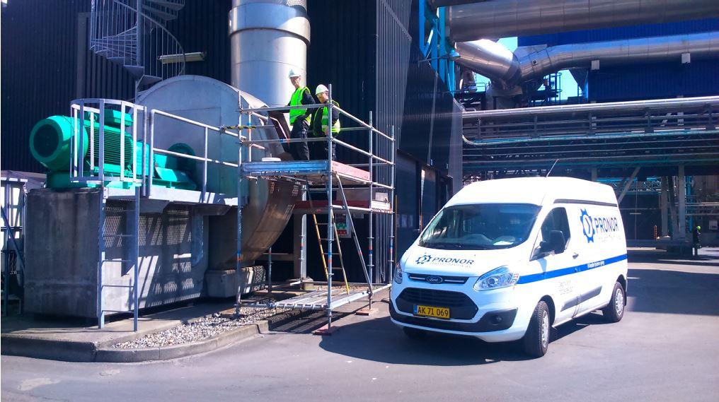 SSG certificeret arbejde hos Fortum Waste Solution i Nyborg