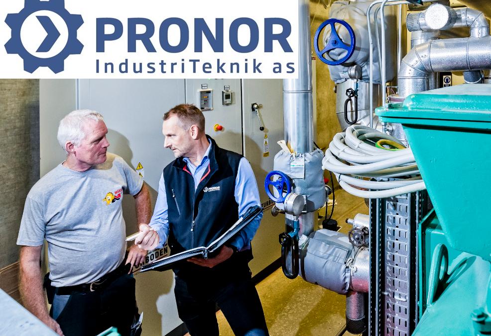 Serviceaftale med PRONOR sikrer fjernvarmeværket