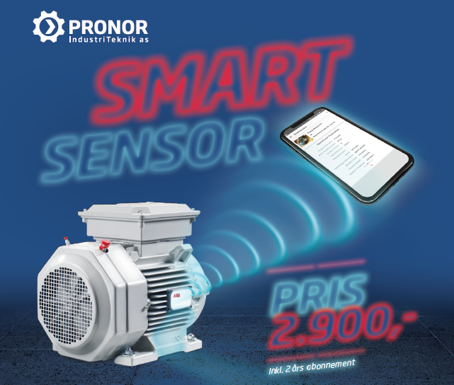 Smart Sensor og 2 års abonnement